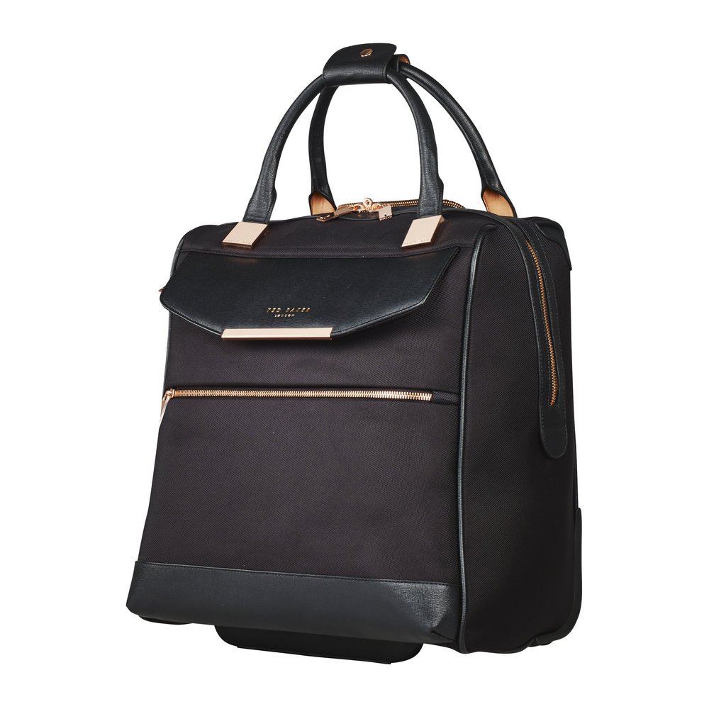 2ecf568df32a Buy Ted Baker Albany Softside 2 Wheel Business Bag - Black