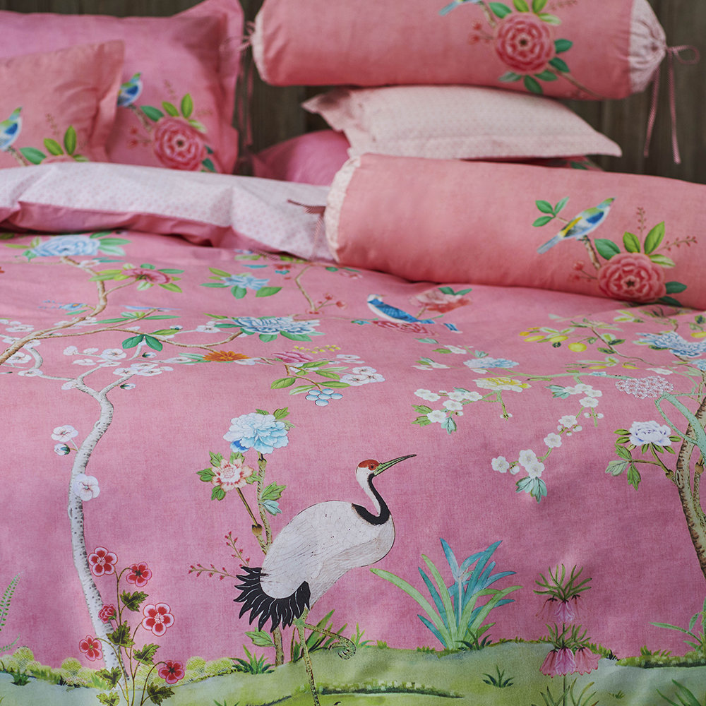Buy Pip Studio Good Morning Duvet Set Pink Amara