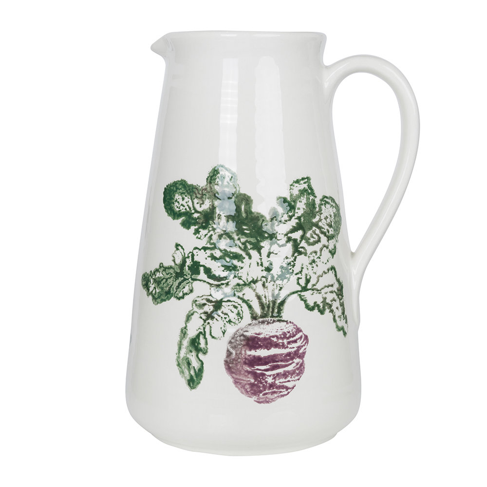 Emily Bond - Beetroot Ceramic Pitcher