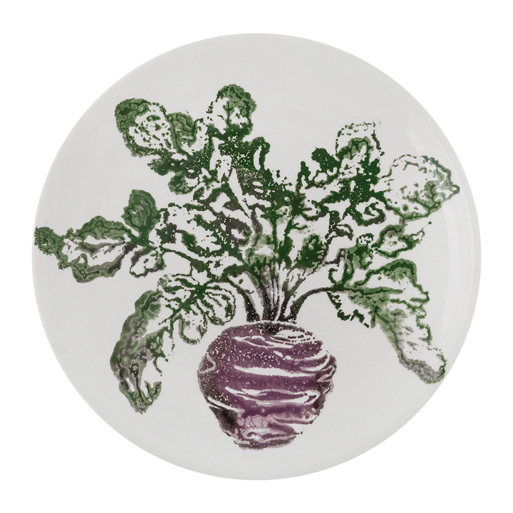 Emily Bond - Beetroot Side Plate