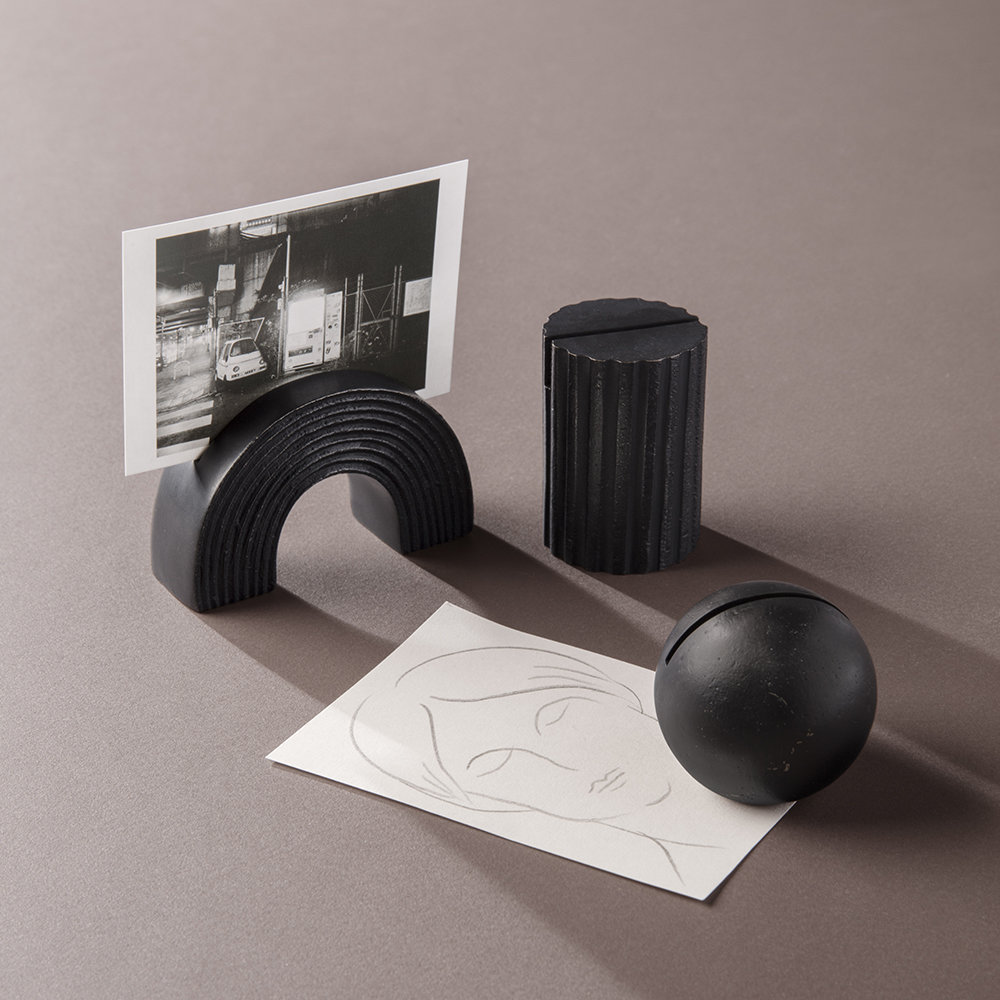 Ferm Living - Arch Card Stand/Photo Holder - Black