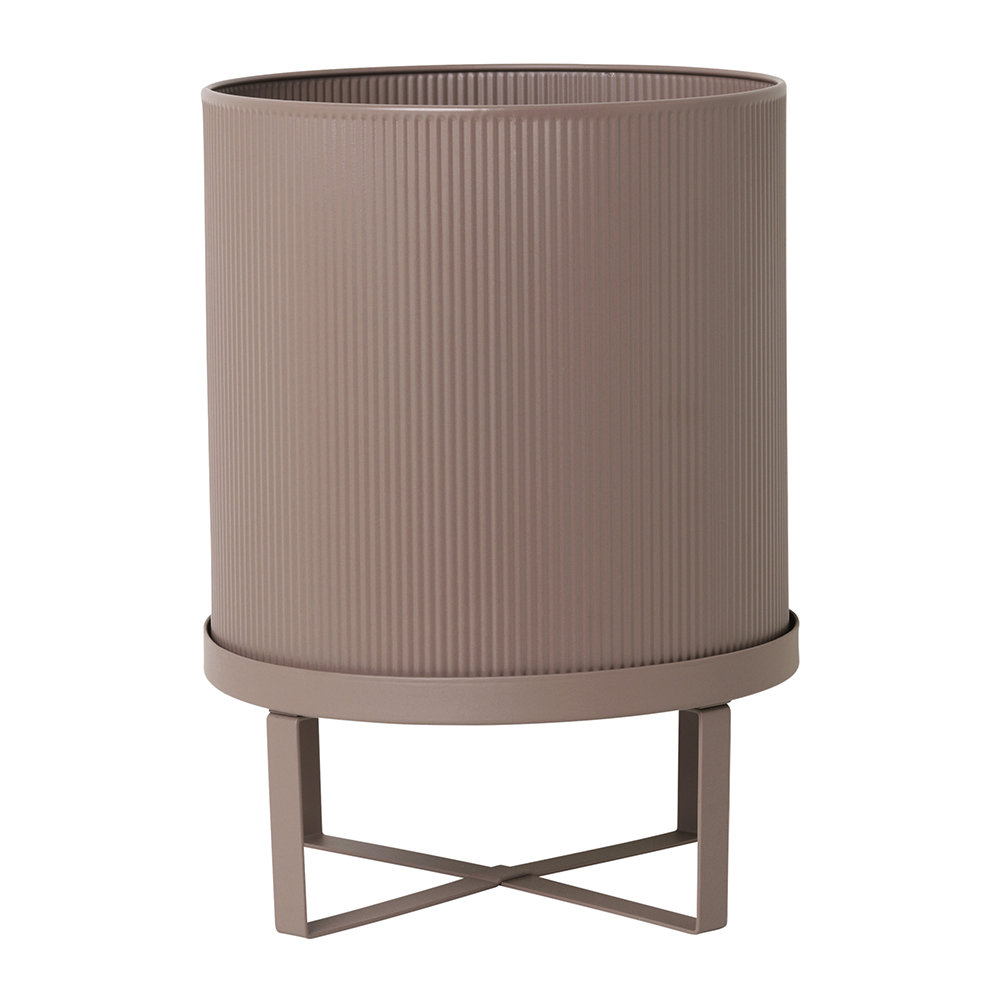 Ferm Living - Bau Plant Pot - Dusty Rose - Large
