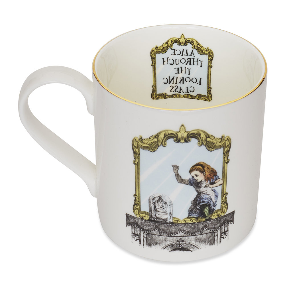 Mrs Moore's Vintage Store - Alice Through The Looking Glass Mug