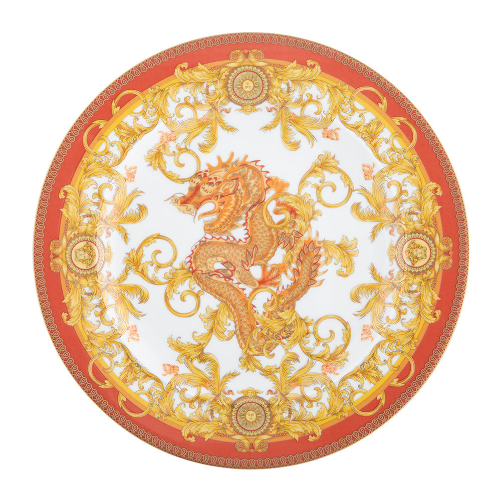 Versace Home - 25th Anniversary Asian Dream Plate - Limited Edition