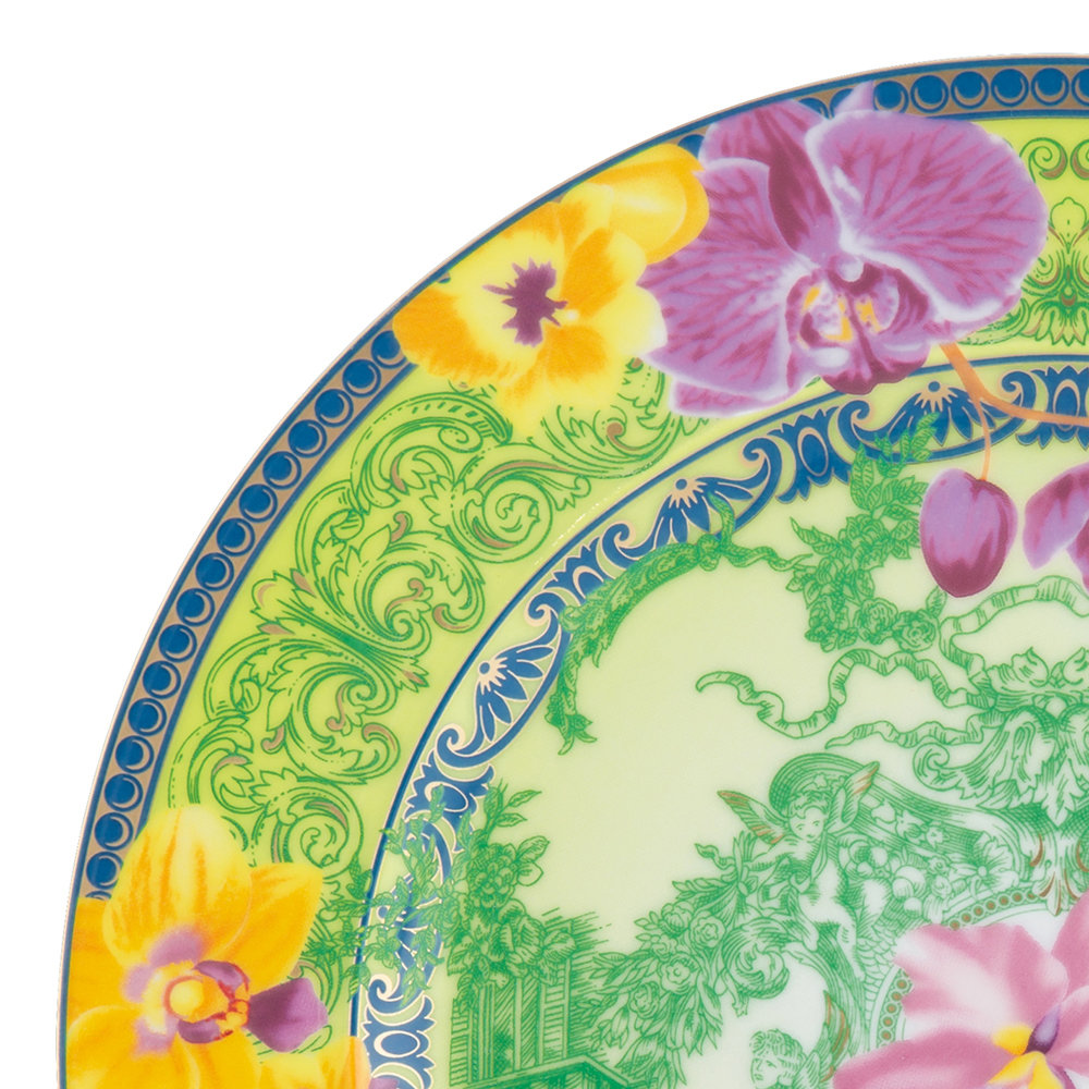 Versace Home - 25th Anniversary D.V. Floralia Plate - Limited Edition