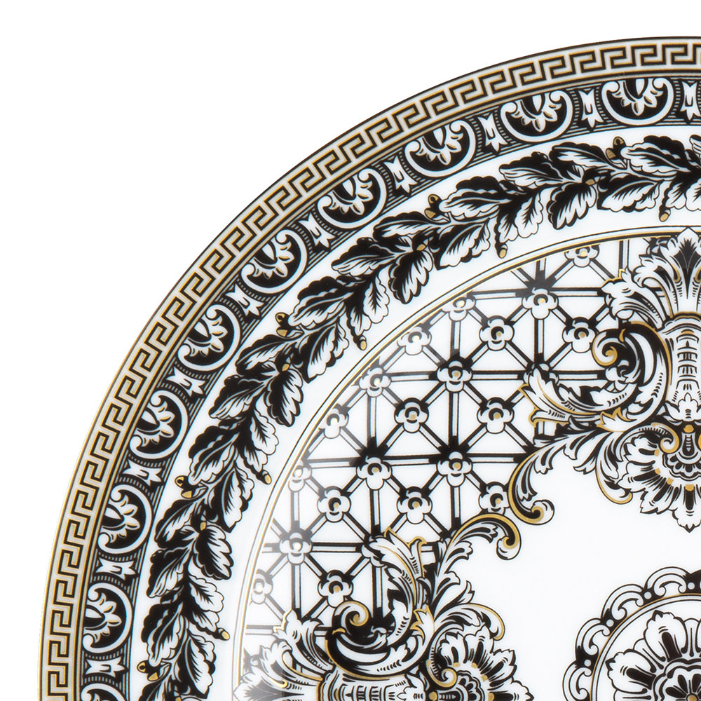 Versace Home - 25th Anniversary Marqueterie Plate - Limited Edition