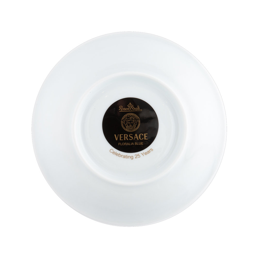 Versace Home - 25th Anniversary Marco Polo Teacup & Saucer - Limited Edition
