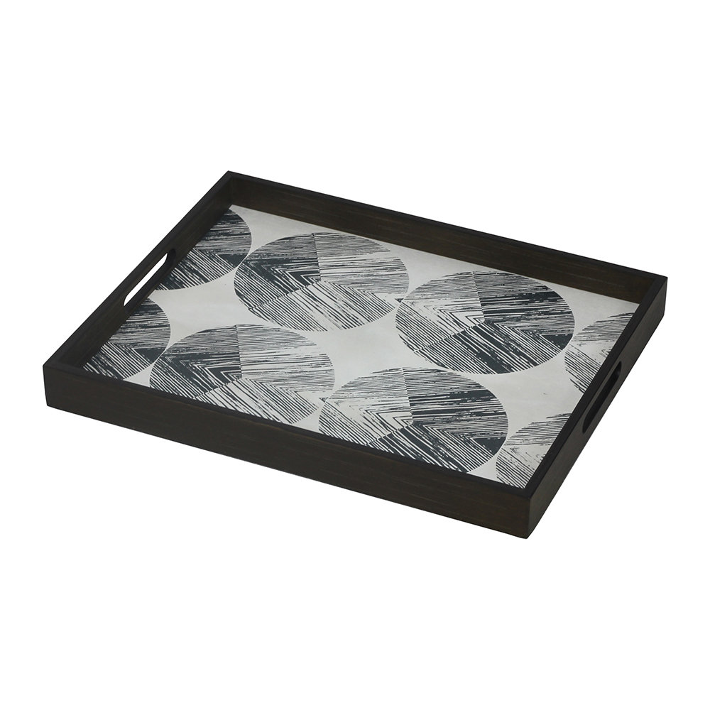 Ethnicraft - Chevron Driftwood Tray - Rectangular - Small