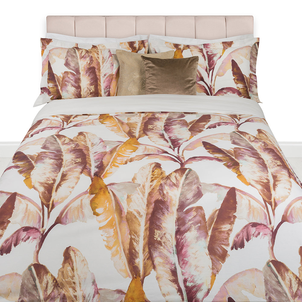 A by Amara - Banana Leaf Duvet Set - Double