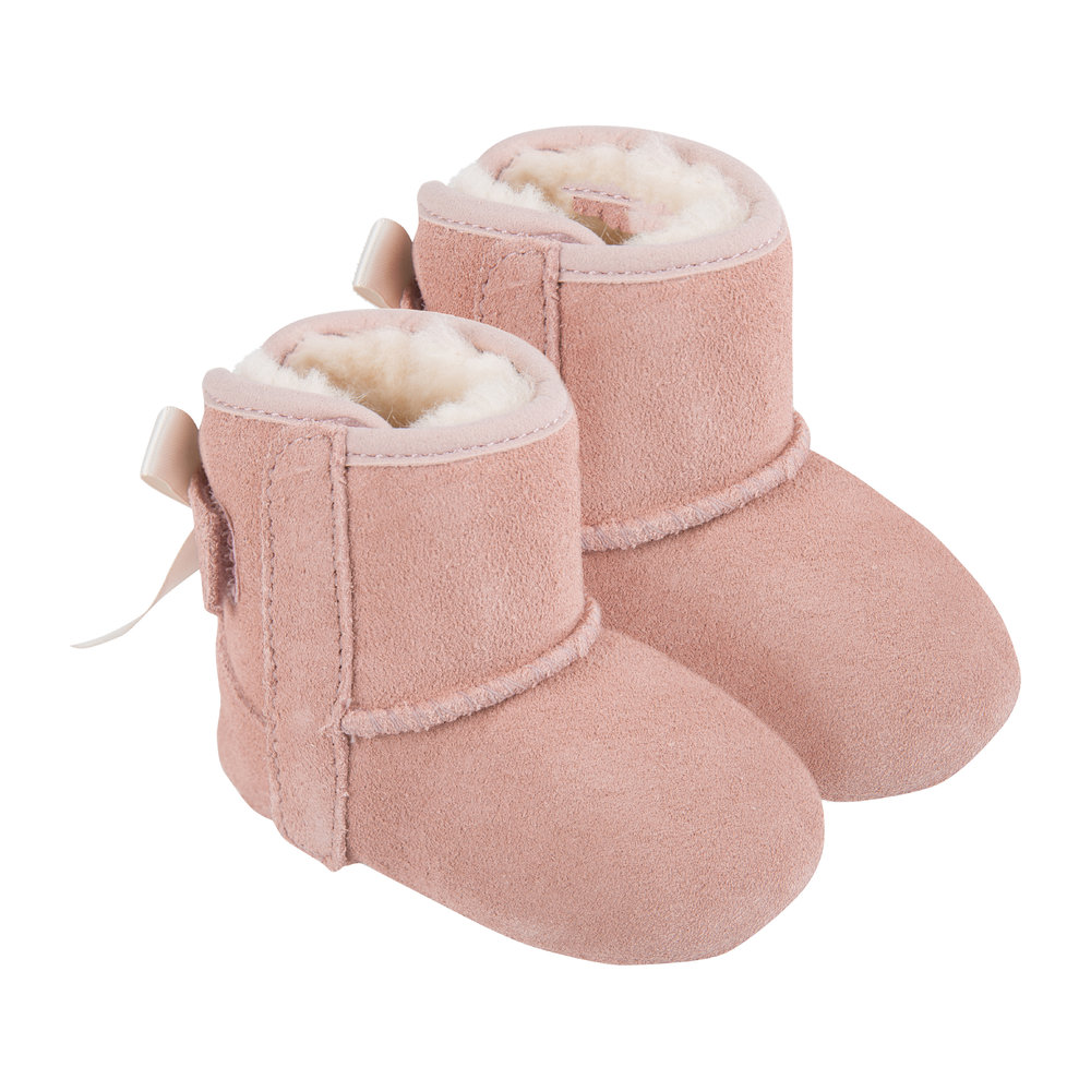 f213776545f Jesse Bow II Infant Boots - Baby Pink