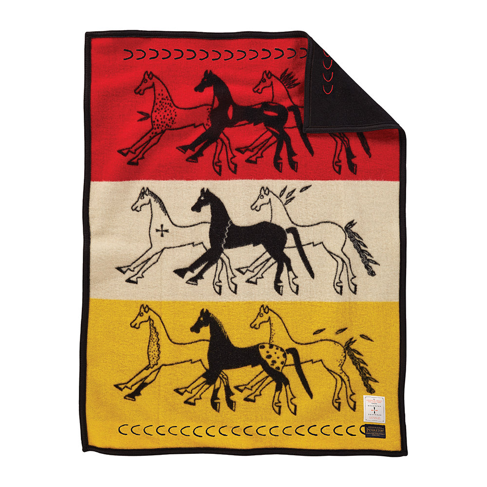 Pendleton - Muchacho Baby Blanket - Future of the Plains