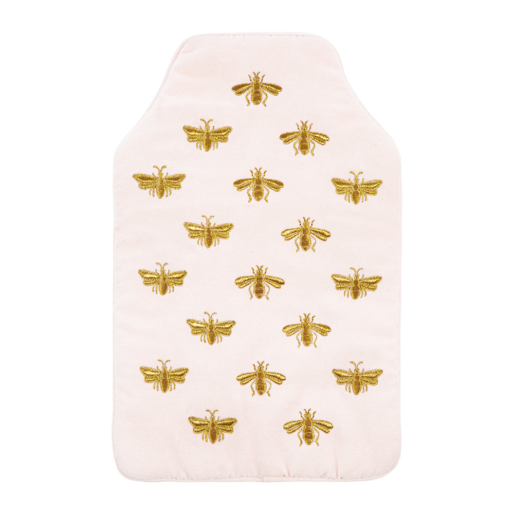Elizabeth Scarlett - Amara X ES Velvet Bee Hot Water Bottle - Rosewater