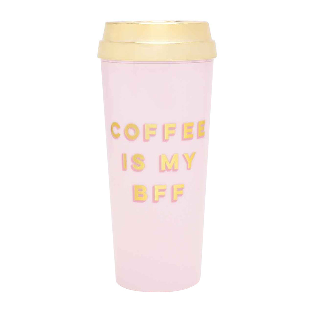 ban. do - Deluxe Hot Stuff Thermal Mug - 'Coffee Is My BFF'
