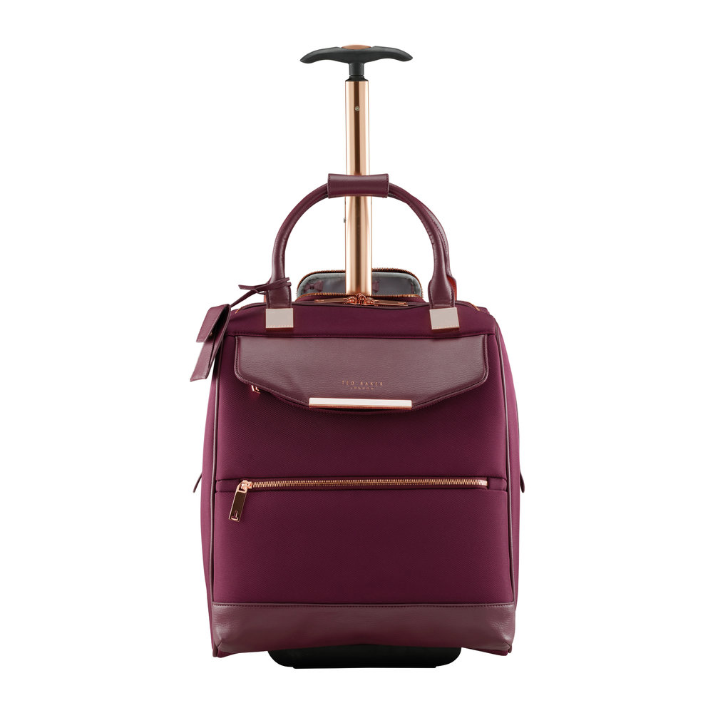 1b2856b7a34725 Buy Ted Baker Albany Softside 2 Wheel Business Bag - Burgundy