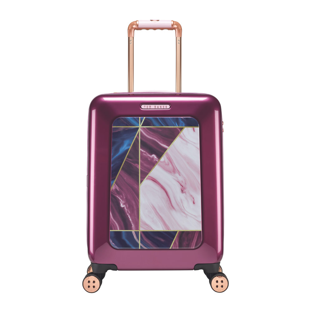 Ted Baker - Balmoral Limited Edition Suitcase - Small - Raspberry