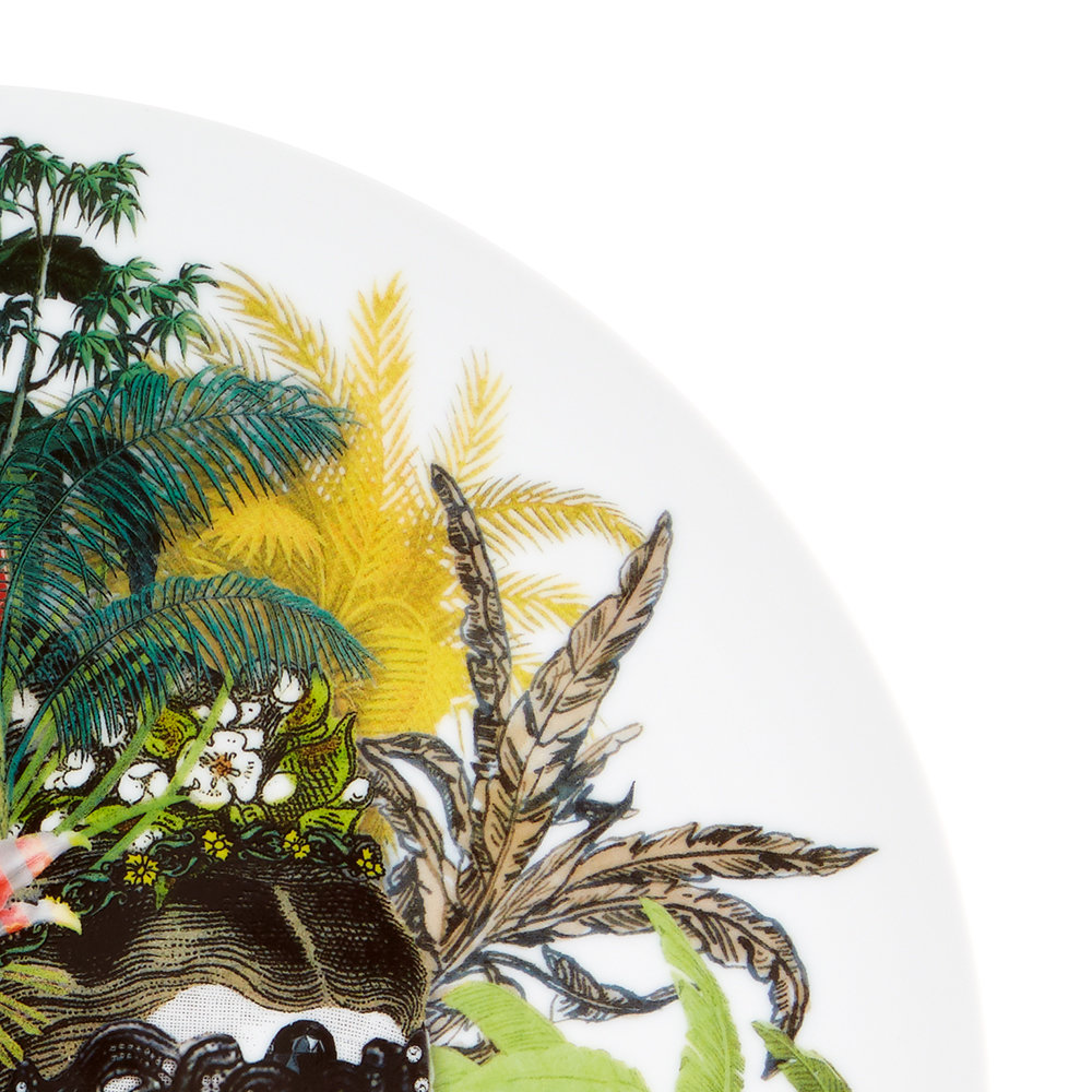 Christian Lacroix - Love Who You Want Charger Plate - Mamzelle Scarlet