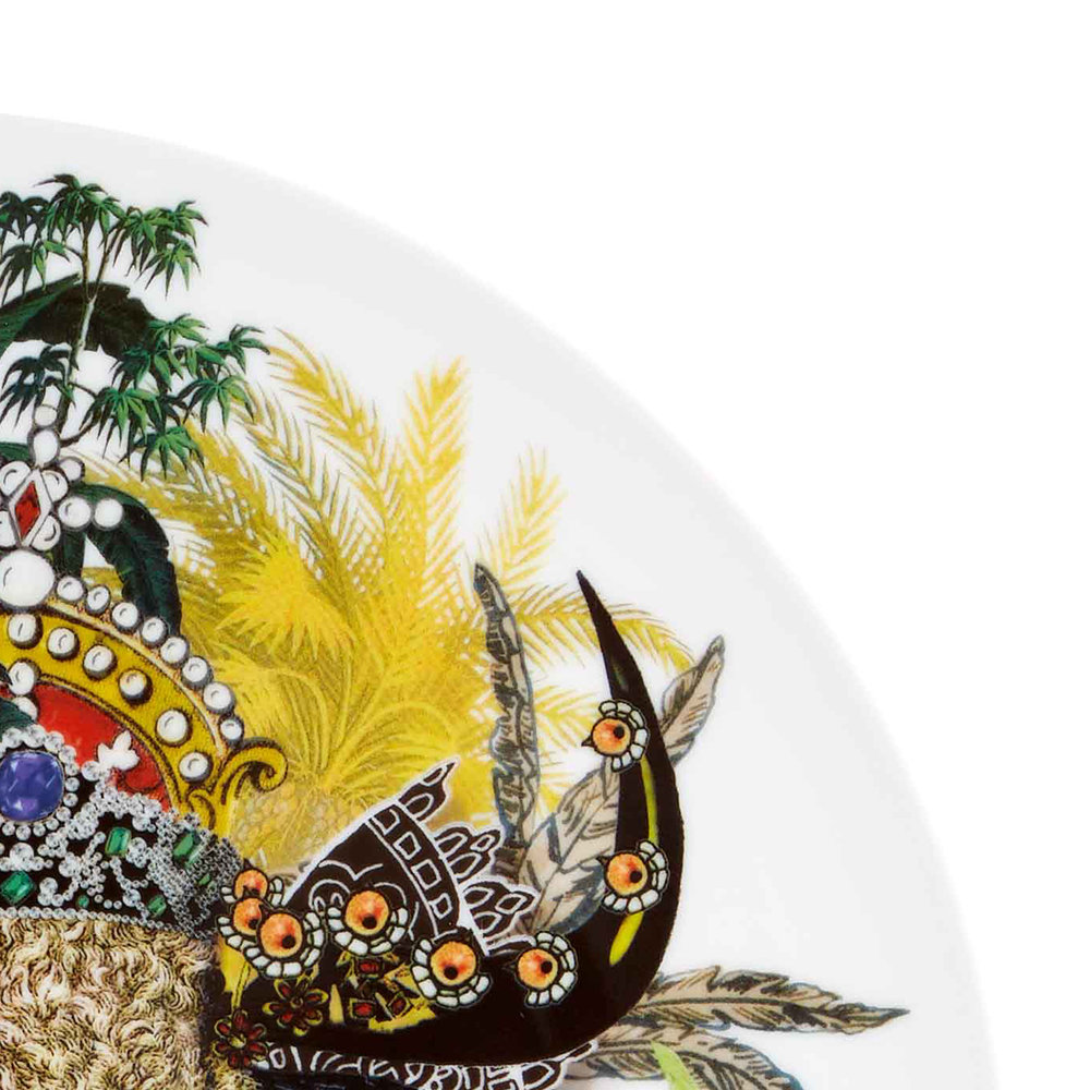 Christian Lacroix - Love Who You Want Charger Plate - Monseigneur Bull