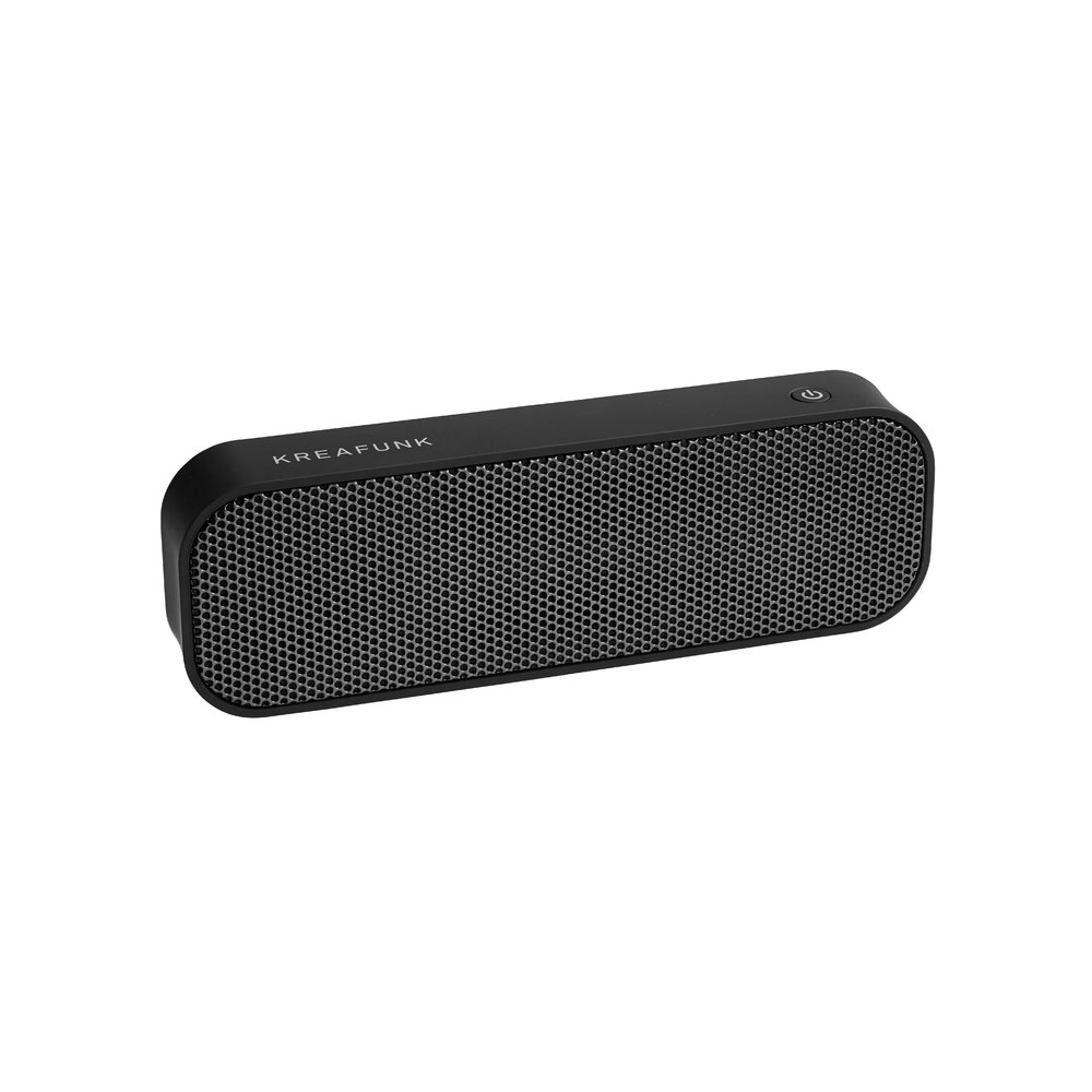 KREAFUNK - aGroove Bluetooth Speaker - Black Edition