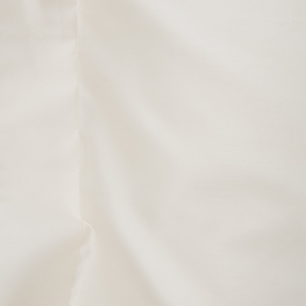 A by AMARA - 500 Thread Count Sateen Oxford Pillowcase Pair - Ivory