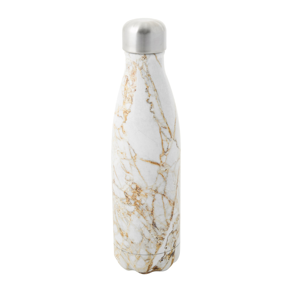 S'well - The Elements Bottle - Calacatta Gold - 0.5L