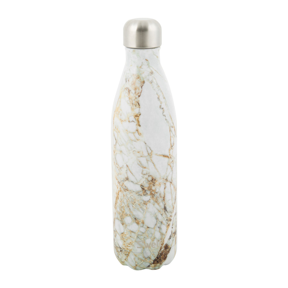 S'well - The Elements Bottle  - Calacatta Gold - 0.75L