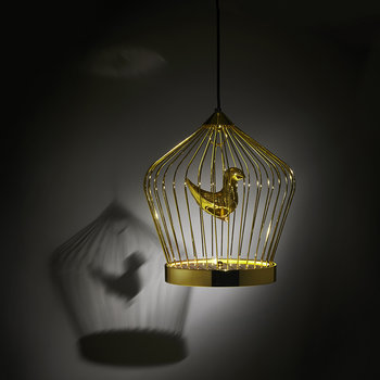 Twee T Ceiling Light - Gold