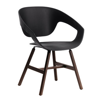 Vad Wood Chair - Black