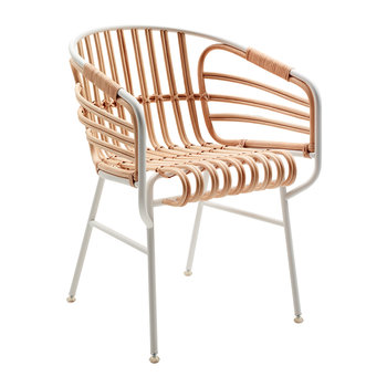 Raphia Chair - White