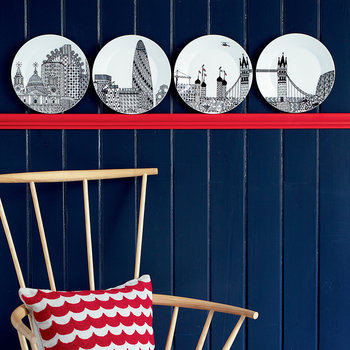 London Calling Plates - Set of 4