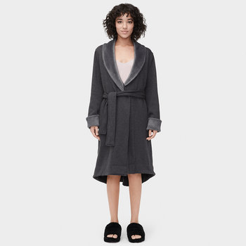 Women's Duffield II Bathrobe - Black Bear Heather