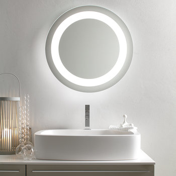 Halo Backlit Mirror