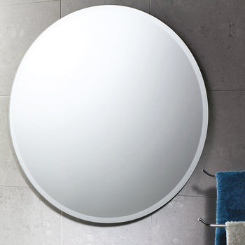 Round Bevelled Edge Mirror