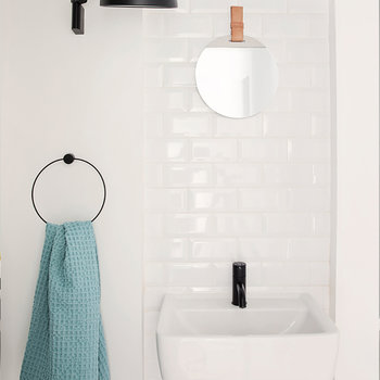 Black Towel Hanger