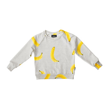 Children's Banana Grey Sweater
