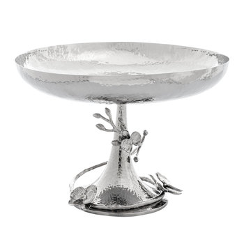 White Orchid Centerpiece Bowl