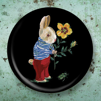 Nathalie Lete In The Garden Of My Dreams Bunny Tray