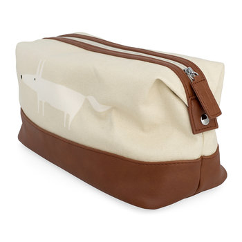 Mr Fox Wash Bag - Parchment