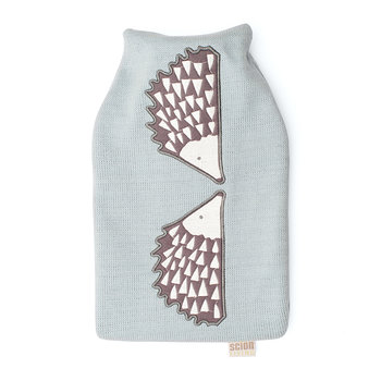 Spike Hot Water Bottle - Slate