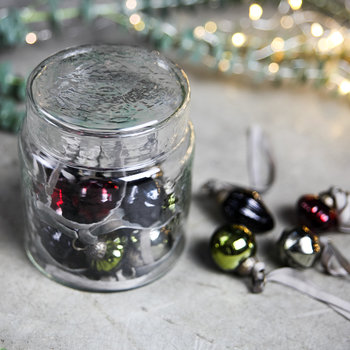 Adisa Bauble Jar - Set of 16 - Multi