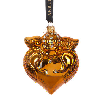 Imperial Heart Tree Decoration - Gold
