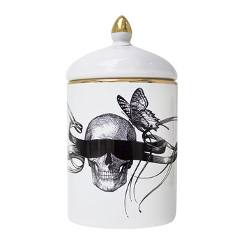 Masked Skull Cozy Candle - 280g