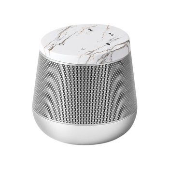 Miami Sound Bluetooth Speaker - Light Gold/White Marble