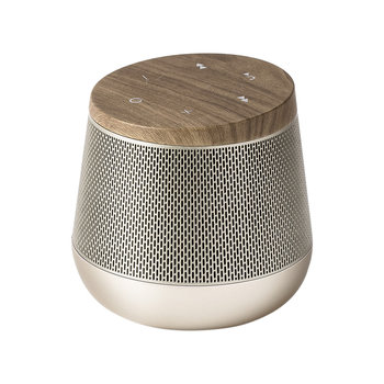 Miami Sound Bluetooth Speaker - Light Gold/Wood