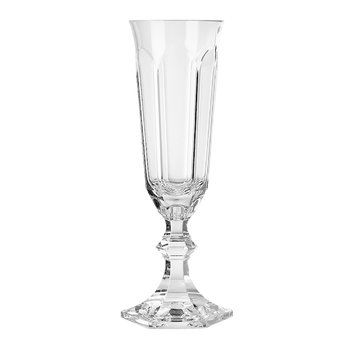 Dolce Vita Acrylic Champagne Flute - Clear