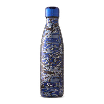 The Metallic Camo Bottle - Clandestine Blue