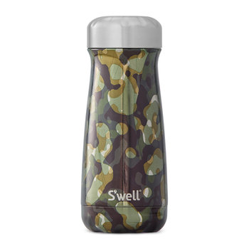 The Metallic Camo Traveler Bottle - Incognito