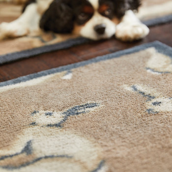 Hare Washable Recycled Door Mat - 65x85cm