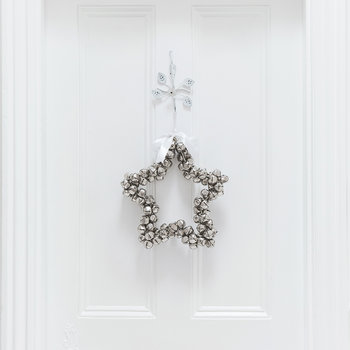 Star Hanging Ornament - Silver