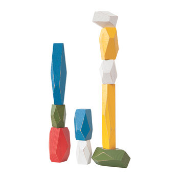 Balancing Blocks Set - Multi-Coloured