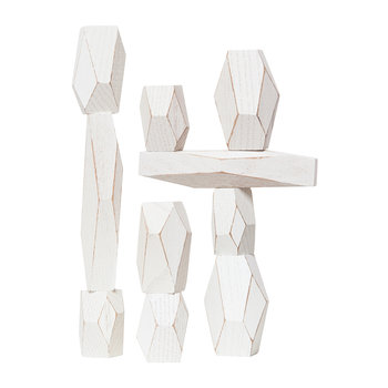 Balancing Blocks Set - White